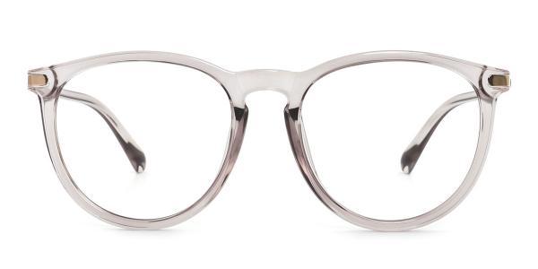 0572 Vann Oval grey glasses