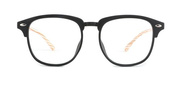 1003-1 Felicitie Round,Oval black glasses