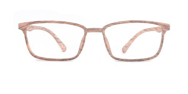 1006 Fidel Rectangle yellow glasses