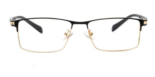 148 Johnny Rectangle gold glasses