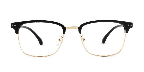 1522-1 Jasmine Rectangle gold glasses