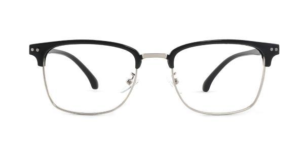 1522 Dazzle Rectangle silver glasses