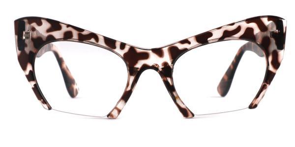1536 Valeria Cateye tortoiseshell glasses