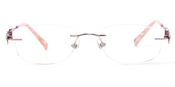 162021 Kaley Oval pink glasses