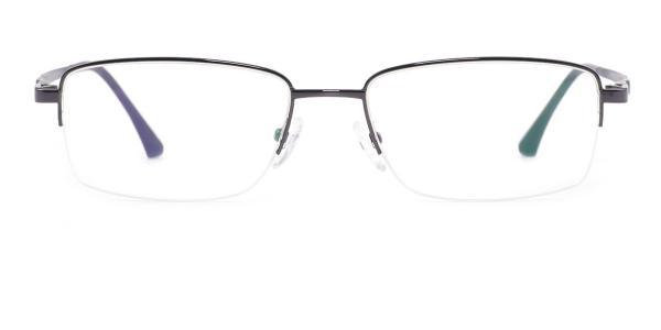 1699 Publius Rectangle grey glasses
