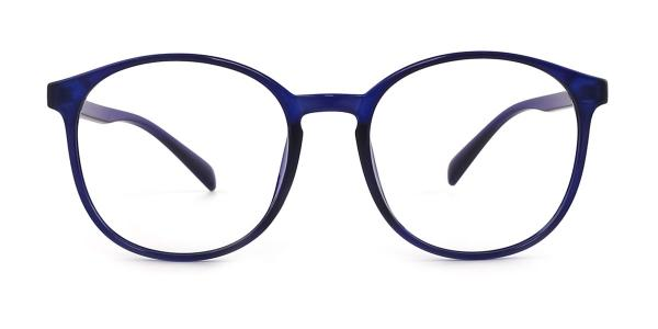 1756 Amanda Oval blue glasses