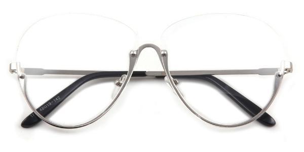 1789 Skylar Oval silver glasses
