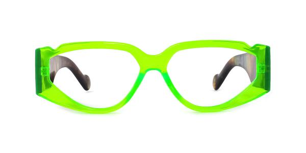 17989 Turbo  green glasses