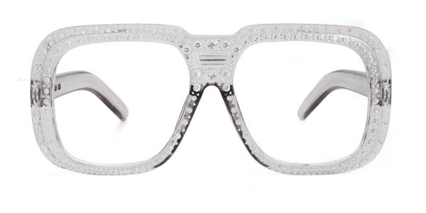 18005 Idalee Rectangle grey glasses