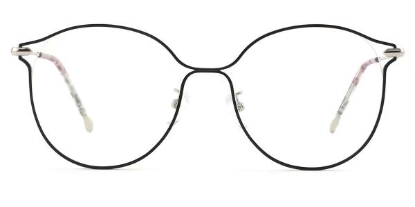 18043 Mignon Round silver glasses