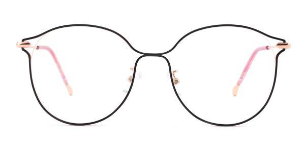 18043 Mignon Round purple glasses