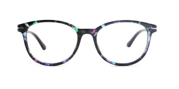 18146 Lana Oval purple glasses