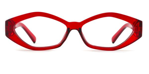 1847 Deane Geometric red glasses