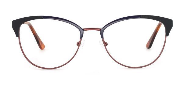1852 Paloma Cateye red glasses