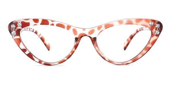 18701 Hana Cateye brown glasses