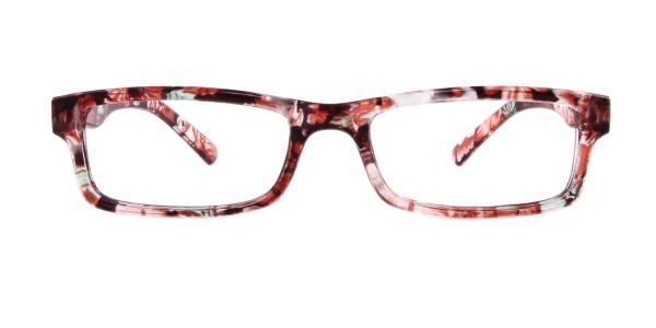 18908 Hester Rectangle brown glasses