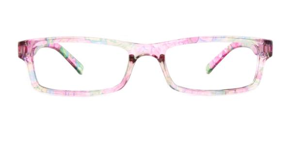 18908 Hester Rectangle pink glasses
