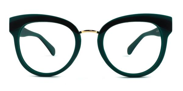 1892 Cady Cateye green glasses