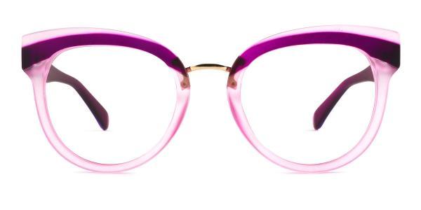 1892 Cady Cateye purple glasses