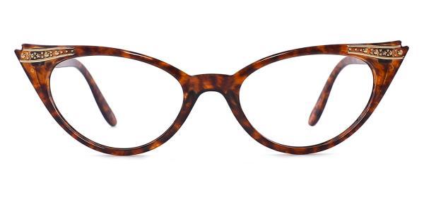 195124 Ethel Cateye tortoiseshell glasses