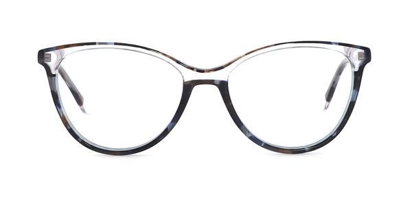 1992 Caiden Cateye black glasses