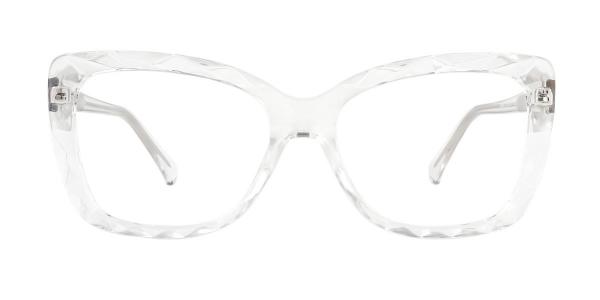 2009 Tacy Rectangle clear glasses