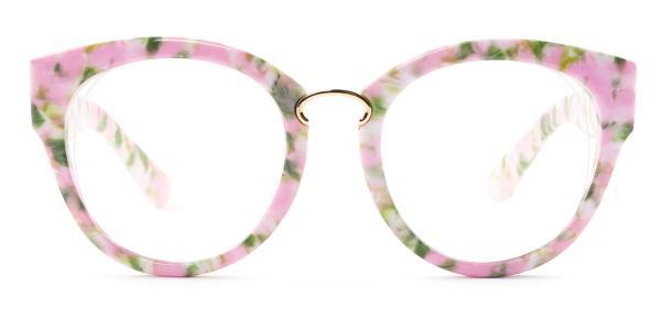 2015 Irma Round pink glasses
