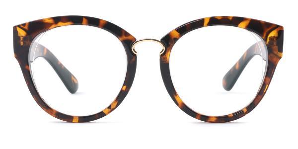 2015 Irma Round tortoiseshell glasses
