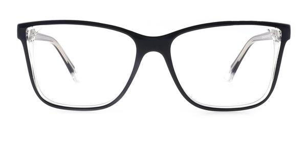 20156 Tamra Rectangle black glasses