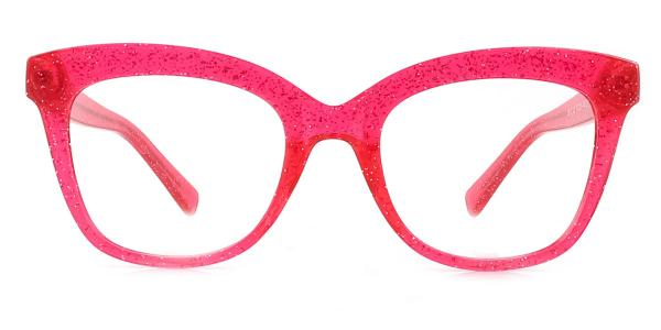 2017 Taliesin Cateye red glasses