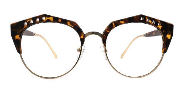 20212 Jeanne Geometric tortoiseshell glasses