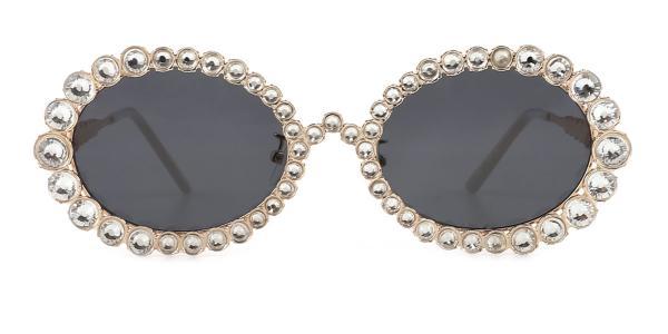 2026 Starlight Oval gold glasses