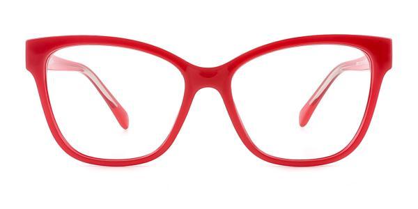 20281 Vitta Cateye red glasses