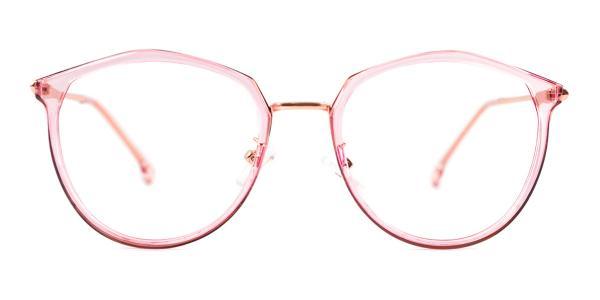 2029 Larissa Geometric pink glasses