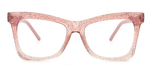 2042 Dagny Butterfly pink glasses