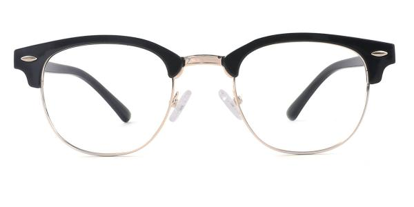 2083 Hardy Rectangle,Oval black glasses