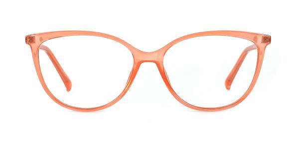 214212 Brielle Cateye orange glasses