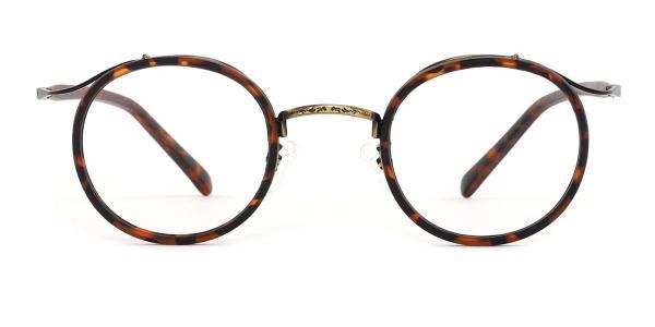 22015 Angela Round tortoiseshell glasses