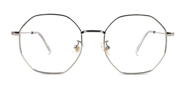 22813 Denise Geometric silver glasses