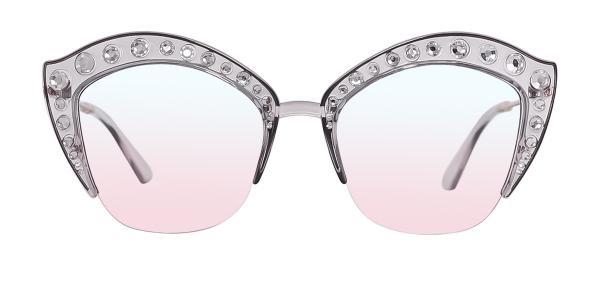 2764 Vijaya Cateye grey glasses