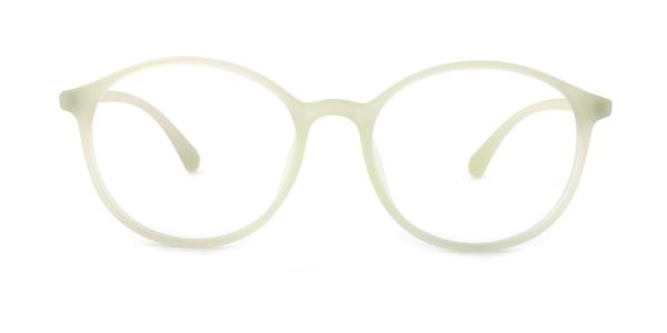 29750 Aggy Round green glasses