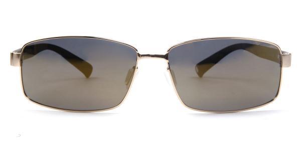 30159 Bertie Rectangle gold glasses
