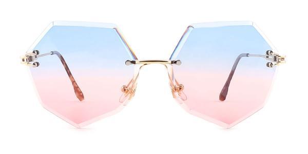 30411 Ilona Geometric tortoiseshell glasses