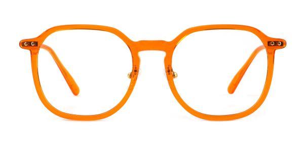32057 Marjorie Rectangle orange glasses