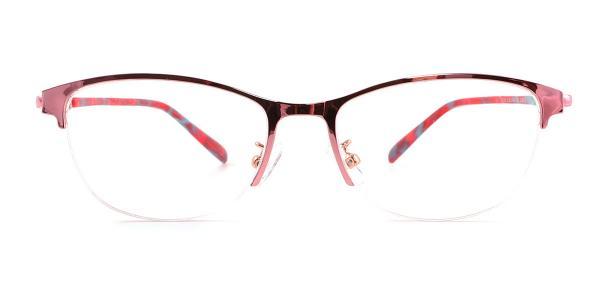 3303-2 Jennica Oval pink glasses