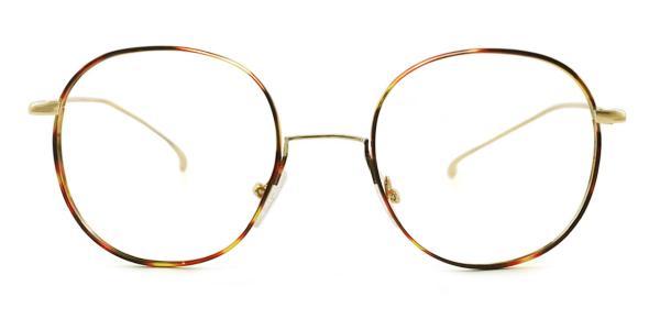 3319 Arabela Round black glasses
