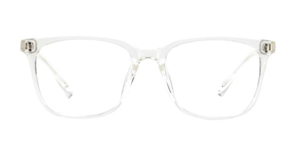 4126 Daley Rectangle clear glasses
