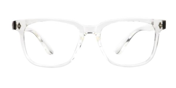4145 Eden Rectangle clear glasses