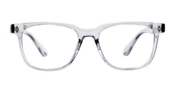 4145 Eden Rectangle grey glasses