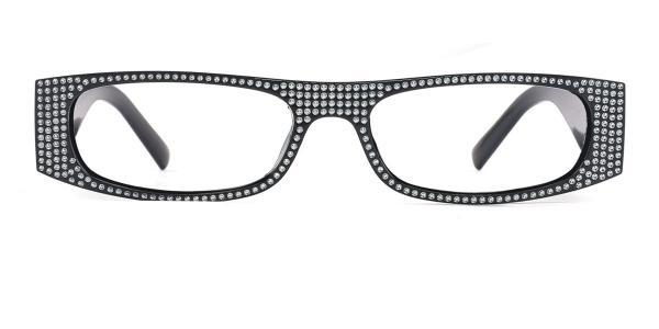 5056 Ianna Oval black glasses